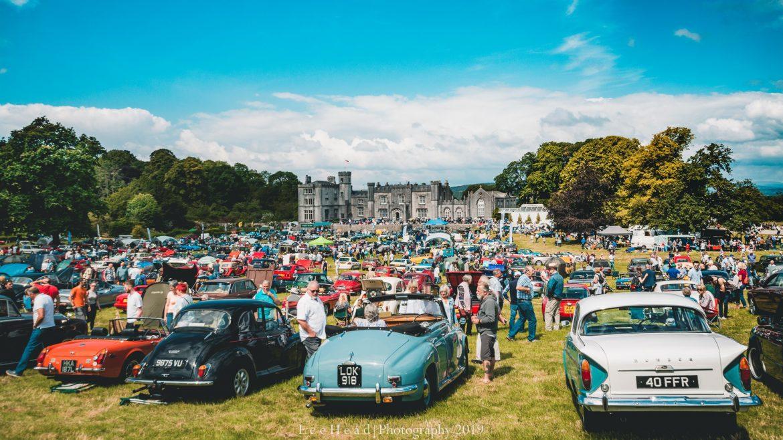 The Leighton Hall Classic Car Festival