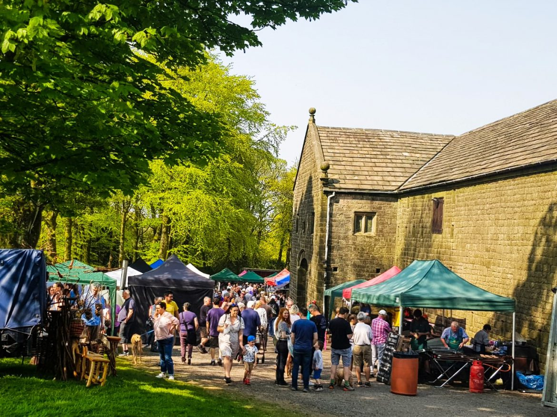 Hoghton Farmers Market on the Classics at Hoghton Tower