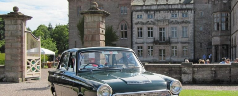 Classic Cars in the Park - Hutton in the Forest