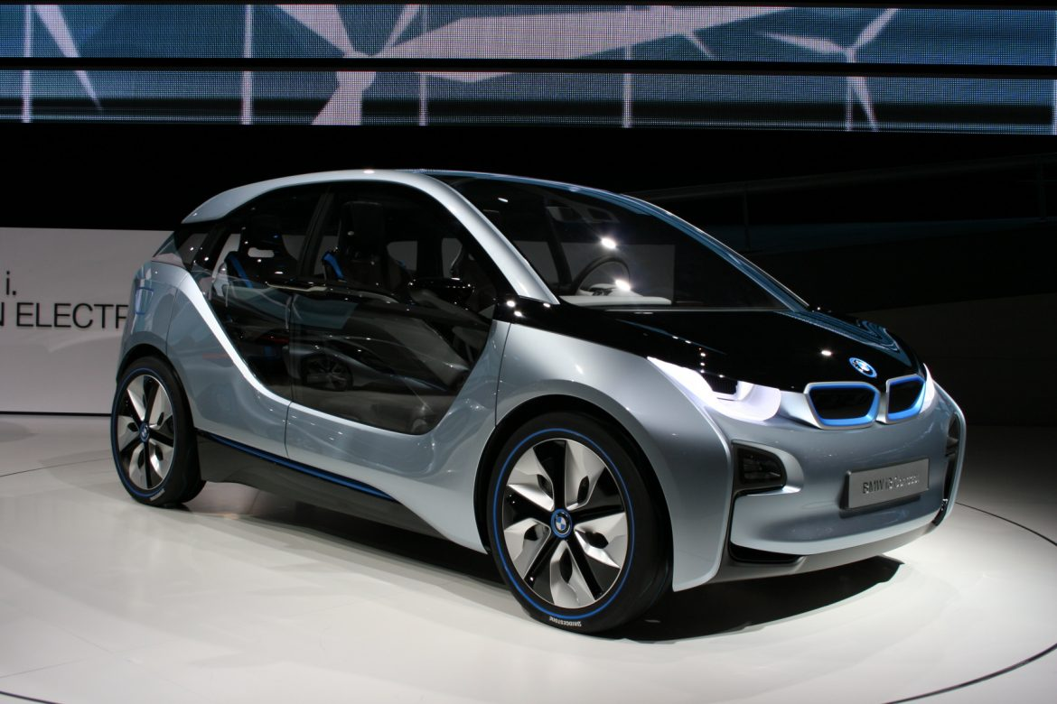 BMW i3 2011 - geeky designs