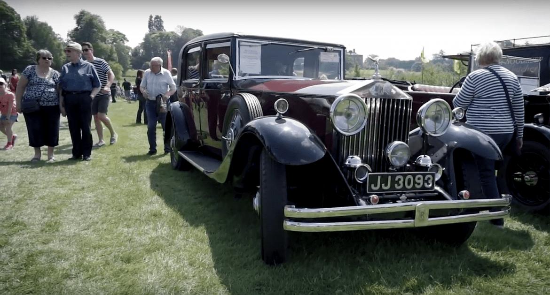 Ripley Castle Yorkshire Classic Car Show