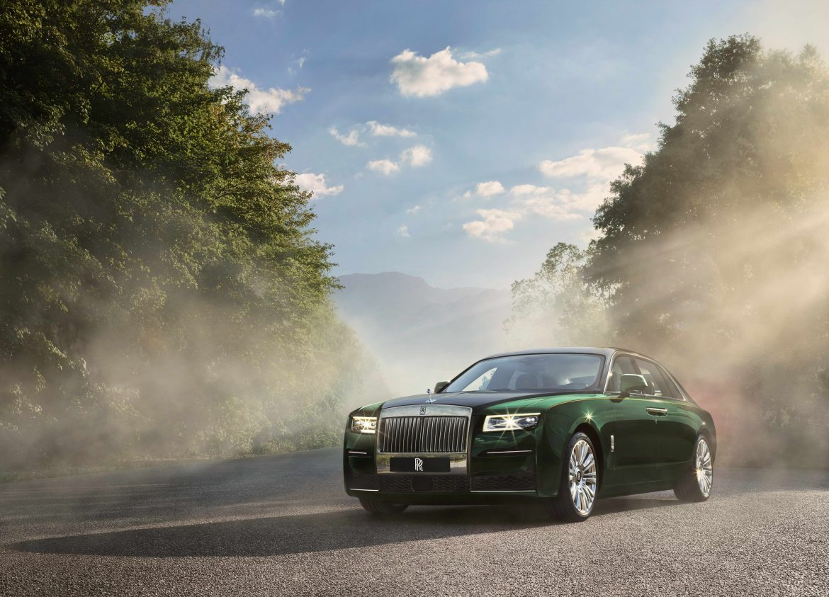 The new Rolls-Royce Ghost Extended