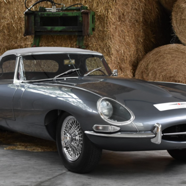 Jaguar e-type 50 years on from the V12 launch, 60 from original launch