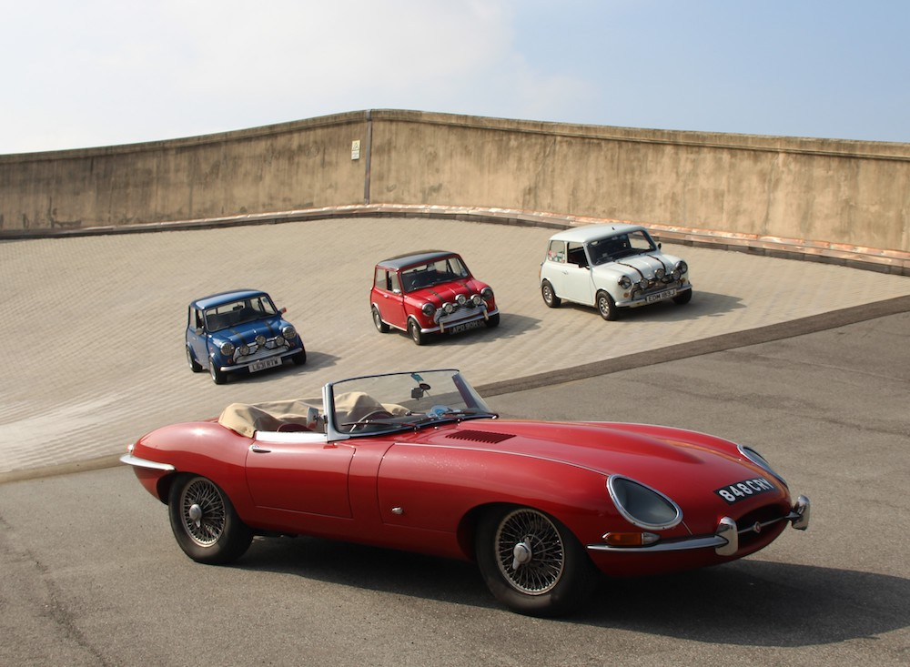 The E-Type and Mini Cooper celebrating 60 years