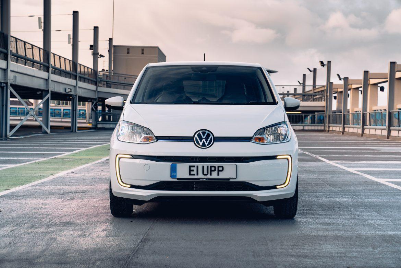 The e-up! leads VW's three EV's that fit in the new grant scheme