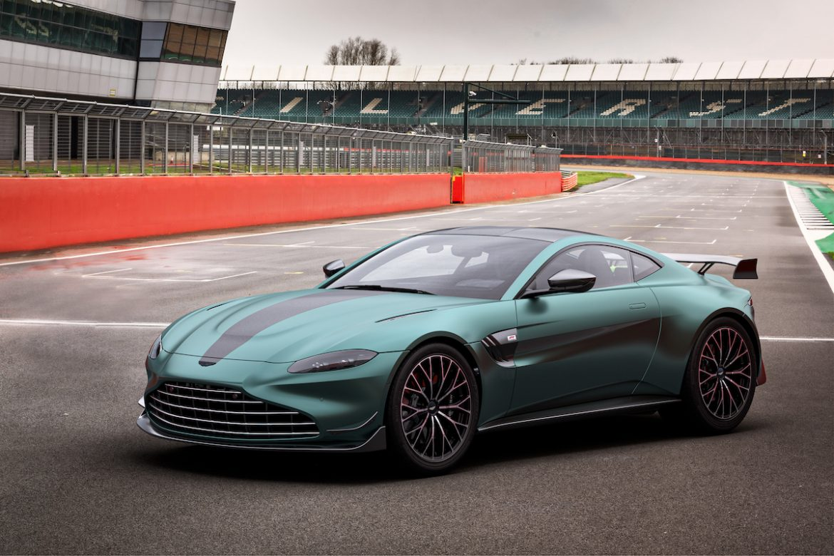 The latest F1 Aston Martin launched