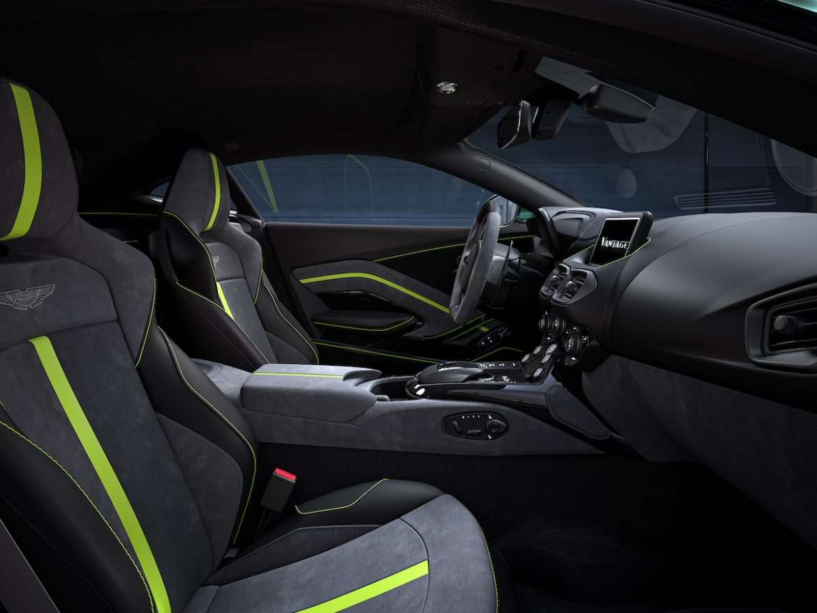 The latest F1 Aston Martin Vantage  launched