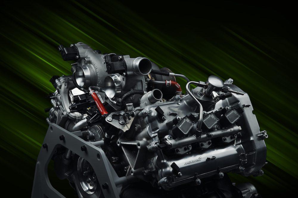 The McLaren Artura - The Hybrid Hypercar powertrain