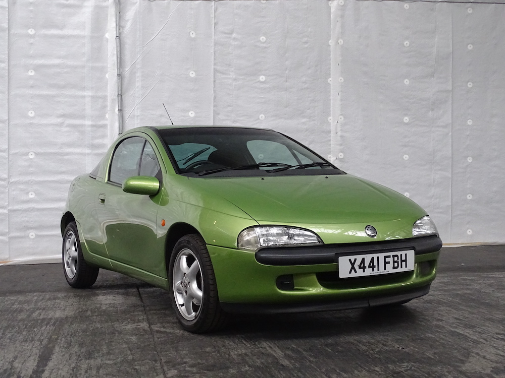 Tigra - part of the Vauxhall Heritage Collection going under the hammer